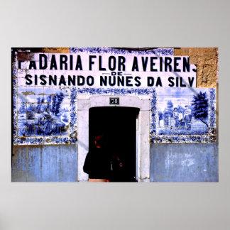 Boulangerie, Lisbonne, Portugal Poster