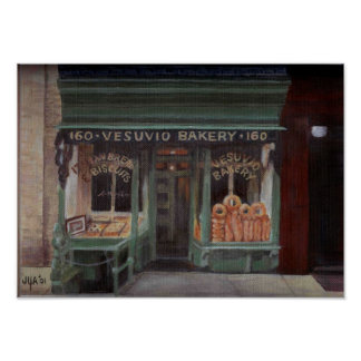 Boulangerie NYC de Vesuvio Poster