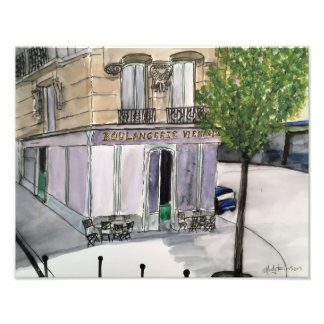 Boulangerie Paris Photo Print