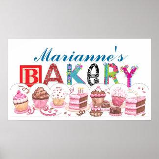 Boulangerie - signe d'affiche de cuisine - SRF