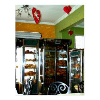 Boulangerie vintage de Valentine Carte Postale