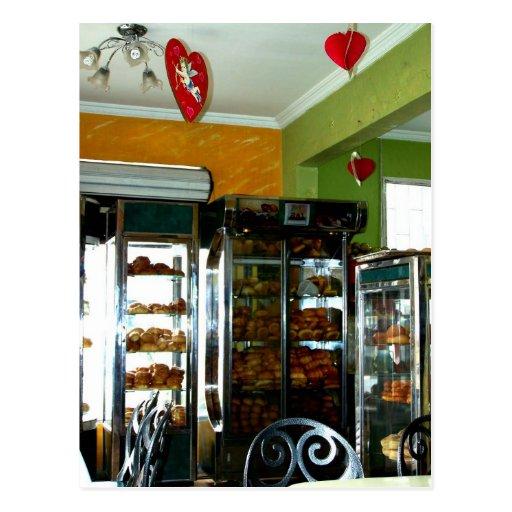 Boulangerie vintage de Valentine Cartes Postales