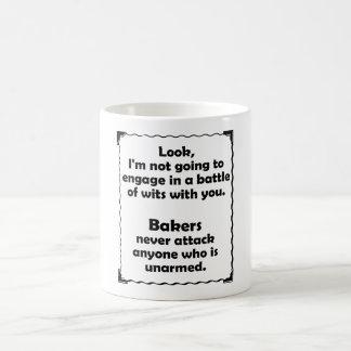 Boulangers de joute d'esprit mug