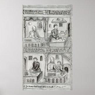 Boulangers de York A D 1595-96 Posters