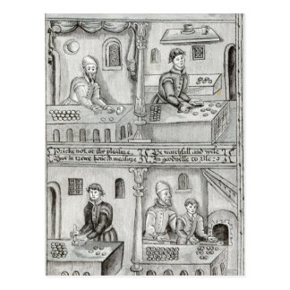 Boulangers de York A.D, 1595-96 Cartes Postales