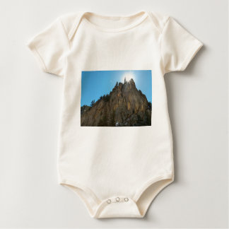 Boulder Canyon Narrows Pinnacle Baby Bodysuit