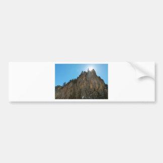 Boulder Canyon Narrows Pinnacle Bumper Sticker