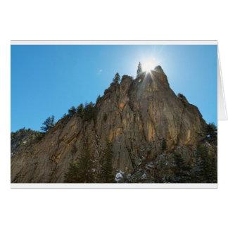 Boulder Canyon Narrows Pinnacle Card