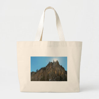 Boulder Canyon Narrows Pinnacle Large Tote Bag