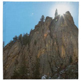 Boulder Canyon Narrows Pinnacle Napkin