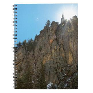 Boulder Canyon Narrows Pinnacle Notebook