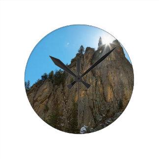 Boulder Canyon Narrows Pinnacle Wall Clocks
