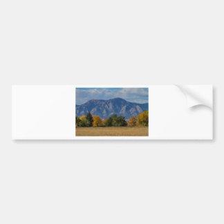 Boulder Colorado Autumn Flatiron Afternoon Bumper Sticker