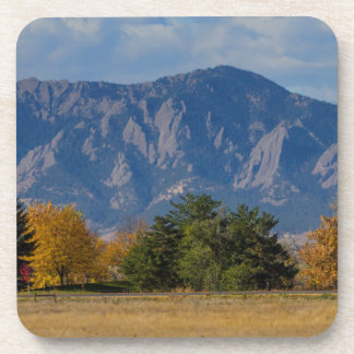 Boulder Colorado Autumn Flatiron Afternoon Coaster