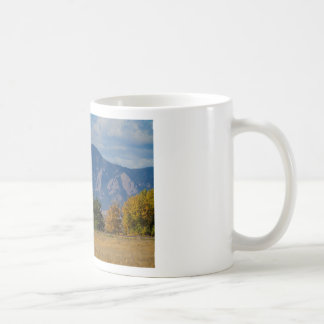 Boulder Colorado Autumn Flatiron Afternoon Coffee Mug