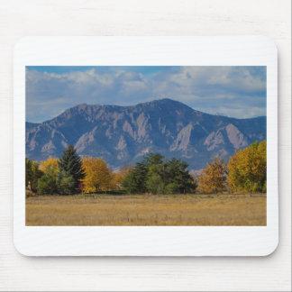 Boulder Colorado Autumn Flatiron Afternoon Mouse Pad