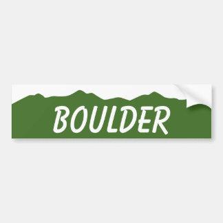Boulder Colorado Bumper Sticker