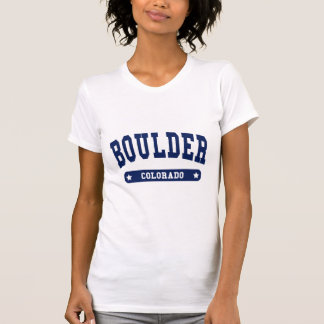 Boulder Colorado College Style t shirts