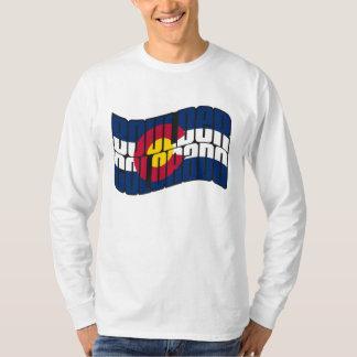 Boulder Colorado Flag T-Shirt