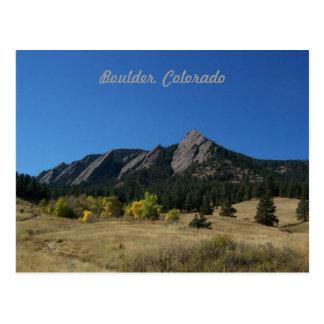 Boulder Colorado Postcard