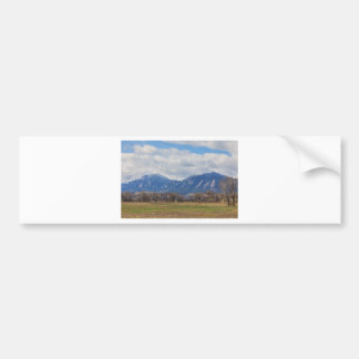 Boulder Colorado Prairie Dog View Bumper Sticker