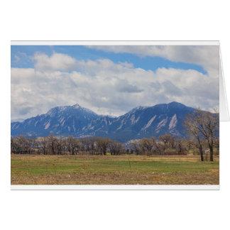 Boulder Colorado Prairie Dog View Card