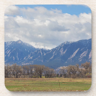 Boulder Colorado Prairie Dog View Coaster