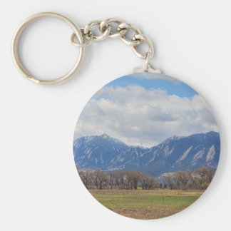 Boulder Colorado Prairie Dog View Keychain