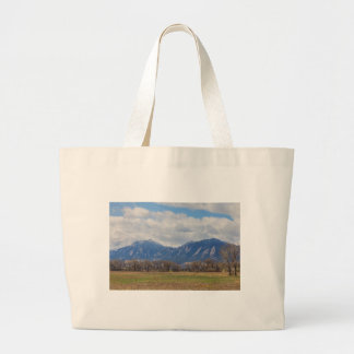 Boulder Colorado Prairie Dog View Large Tote Bag