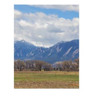 Boulder Colorado Prairie Dog View Letterhead