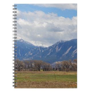 Boulder Colorado Prairie Dog View Notebook