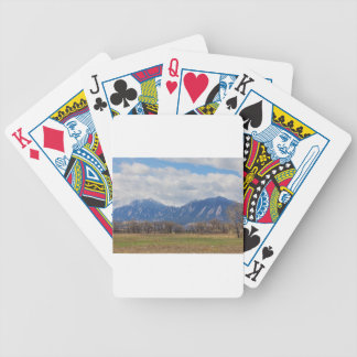 Boulder Colorado Prairie Dog View Poker Deck