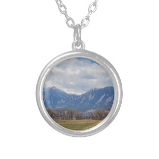 Boulder Colorado Prairie Dog View Silver Plated Necklace