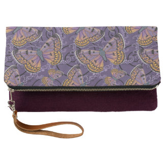 Boulder Copper Butterfly Clutch
