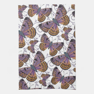 Boulder Copper Butterfly Kitchen Towel