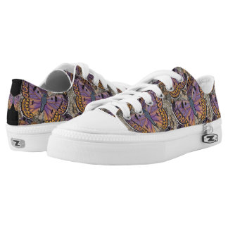 Boulder Copper Butterfly Madness Low-Top Sneakers