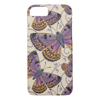 Boulder Copper Butterfly Swirl iPhone 7 Case