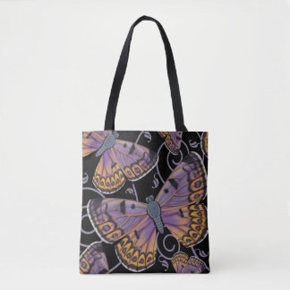 Boulder Copper Butterfly Swirl Tote Bag