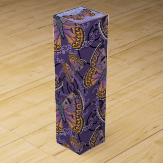 Boulder Copper Butterfly Wine Gift Box