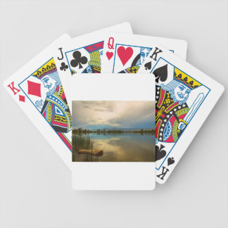 Boulder County Colorado Calm Before The Storm Bicycle Playing Cards