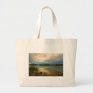 Boulder County Colorado Calm Before The Storm Large Tote Bag