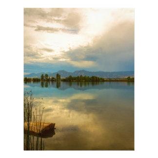Boulder County Colorado Calm Before The Storm Letterhead