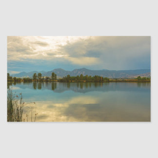 Boulder County Colorado Calm Before The Storm Sticker