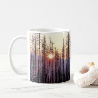 Boulder Creek Pass Winter Afternoon Coffee Mug