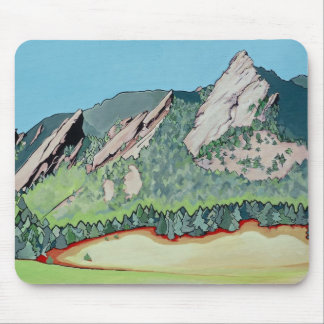 Boulder Flatirons Mouse Pad