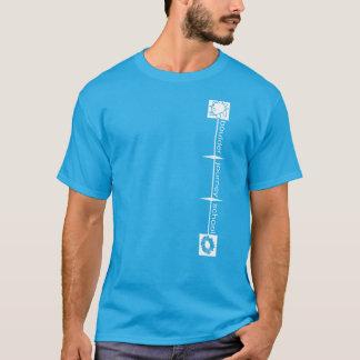 Boulder Journey School Adult T-Shirt - White Text