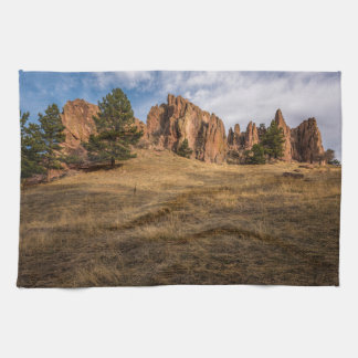 Boulder Red Rocks Kitchen Towel