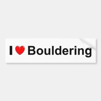 Bouldering Bumper Sticker