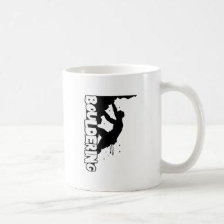 Bouldering Print Men Coffee Mug