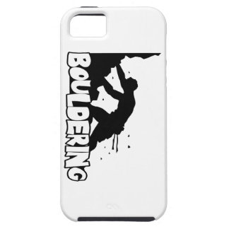 Bouldering_Print Men iPhone 5 Cases